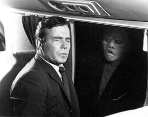 William Shatner in The Twilight Zone episode &...