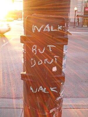 Walk But Don't Walk