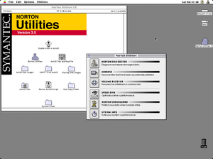 Norton Utilities 3.5 for Macintosh.
