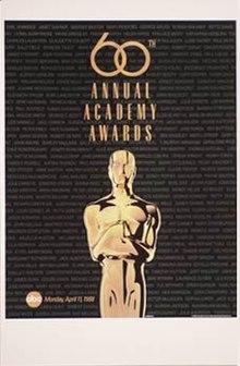 60th Academy Awards Wikipedia