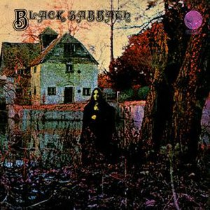 The first Black Sabbath album with its gothic ...