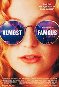 Film poster for Almost Famous - Copyright 2000...