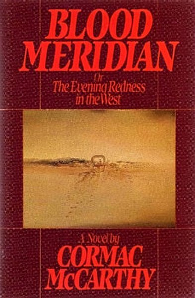 "//upload.wikimedia.org/wikipedia/en/thumb/d/de/CormacMcCarthy_BloodMeridian.jpg/393px-CormacMcCarthy_BloodMeridian.jpg"" cannot be displayed, because it contains errors."