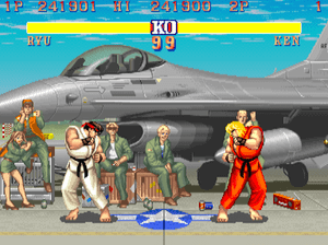 Although Street Fighter II was not the first f...
