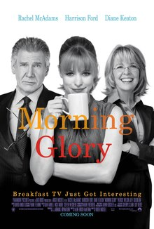 The poster shows a woman holding a coffee mug. At her left is a man with a awkward-looking expression. At her right is another woman smiling. At the middle reveals the title while at the bottom reveals the tagline and production credits.