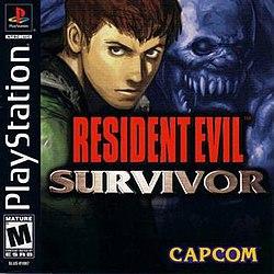 Resident Evil Survivor cover