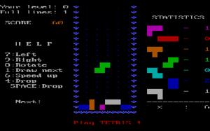 Screenshot of the 1986 IBM PC version