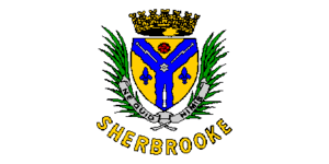 Flag of Sherbrooke, Quebec