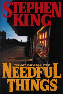 Image result for Needful Things Stephen King