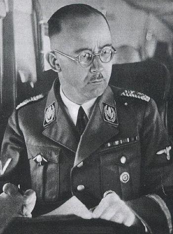 Heinrich Himmler in 1945.