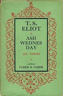 ash wednesday eliot # 0