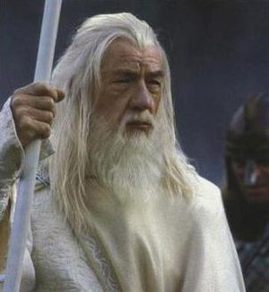 Ian McKellen as Gandalf the White in Peter Jac...