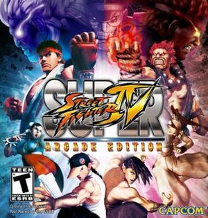 Characters including Ryu, Akuma, and M. Bison ...