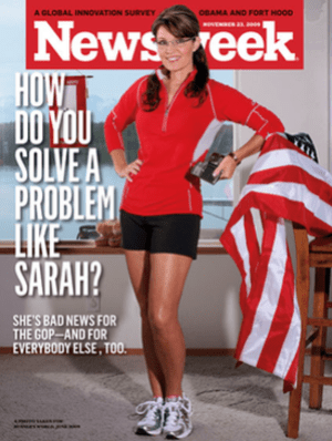 Controversial Newsweek cover, November 23, 200...