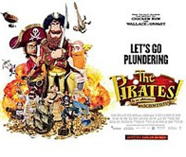 The Pirates In An Adventure With Scientists Poster Jpg