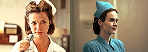 Louise Fletcher as Nurse Ratched in the 1975 film.