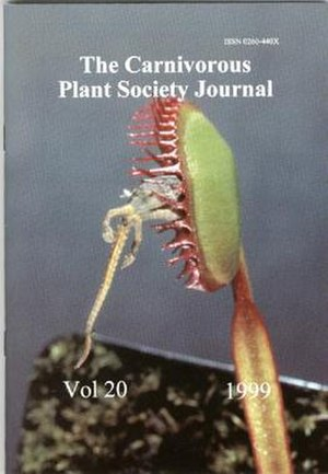 The Carnivorous Plant Society Journal