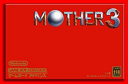 The MOTHER 3 box art.