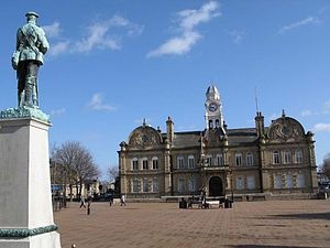 Ossett Town Hall Square