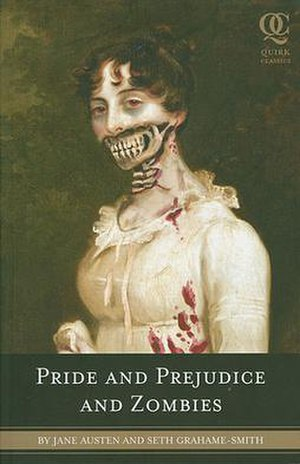 First edition cover, Pride and Prejudice and Z...