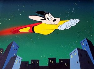 Mighty Mouse in Ralph Bakshi's adaptation