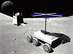 Team FREDNET tf(x) Lunar Rover Rendering.