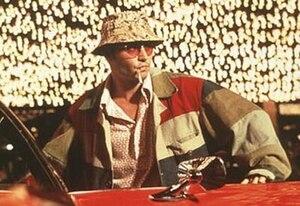 Raoul Duke (Johnny Depp) in Fear and Loathing ...