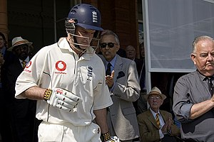 Andrew Strauss, England's captain for the tour...
