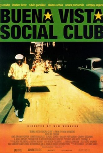 Buena Vista Social Club Theatrical release poster