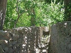 تصویری از باغهای خراشاد
