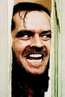 جک نیکلسون در معروفترین سکانس فیلم