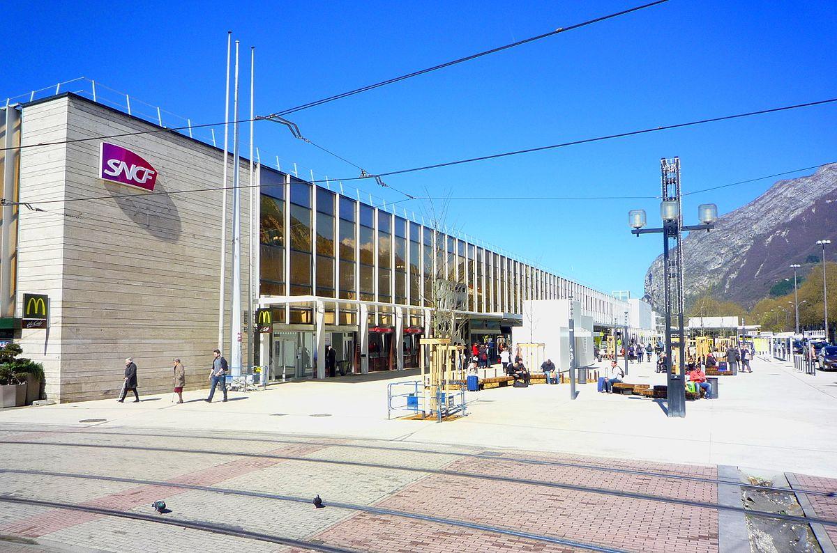 Gare De Grenoble Wikipdia