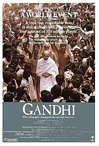 Gandi movie pic