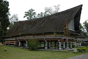 Rumah Bolon Raja Purba di Pematang Purba, Simalungun.
