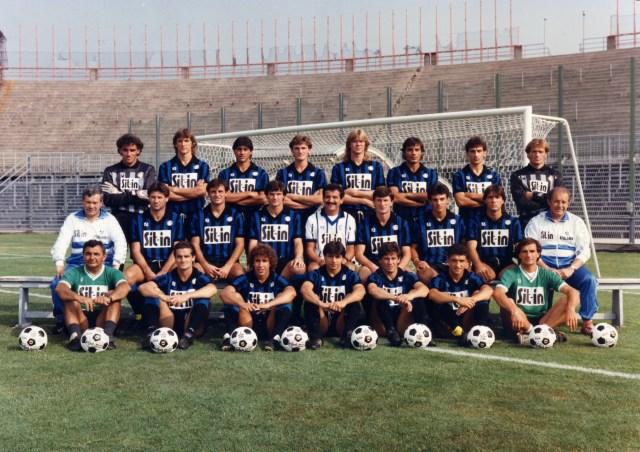 L'Atalanta del 1987/88, allenata da Emiliano Mondonico. Foto: Wikicommons.