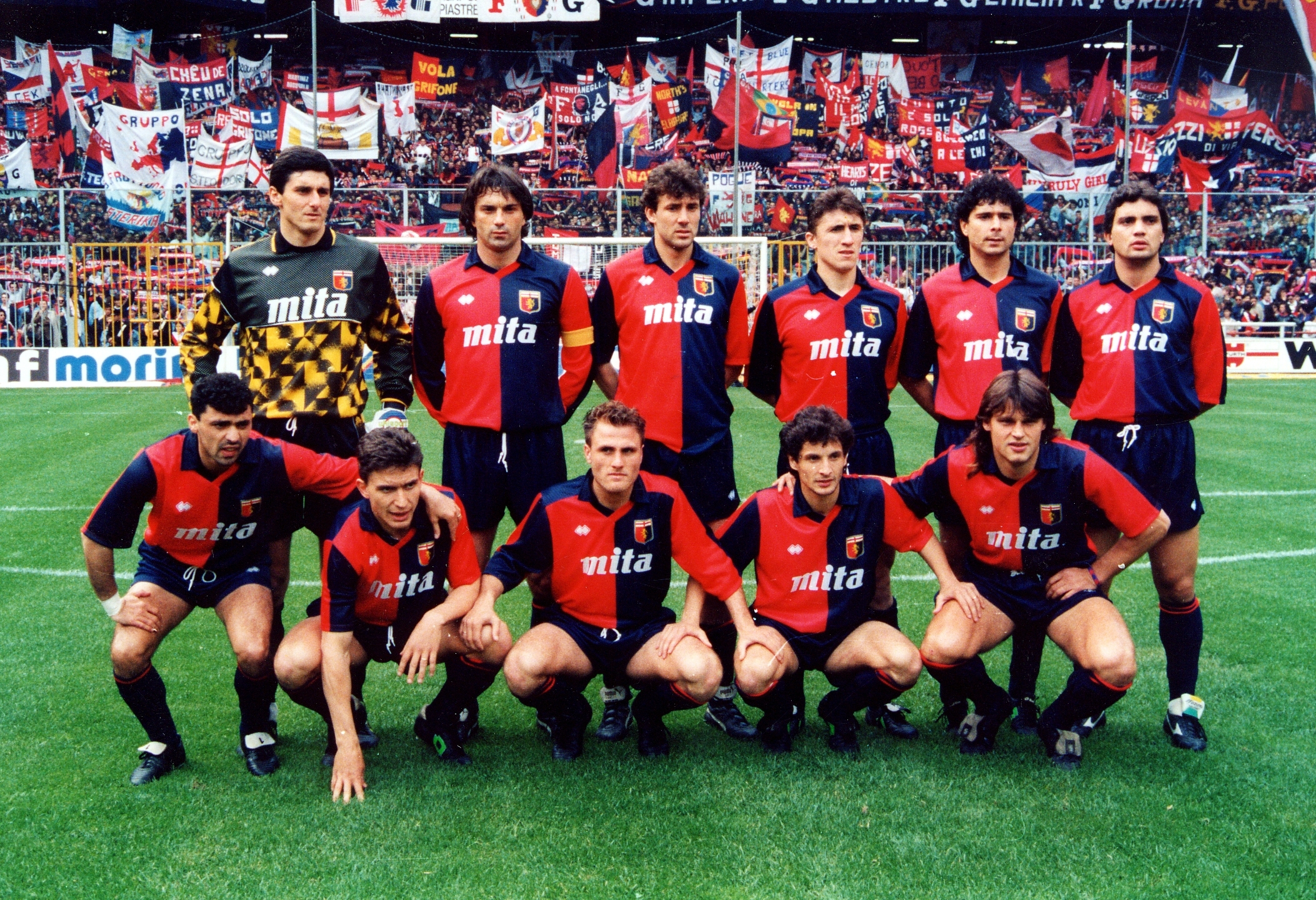 Image result for genoa team 1990/91