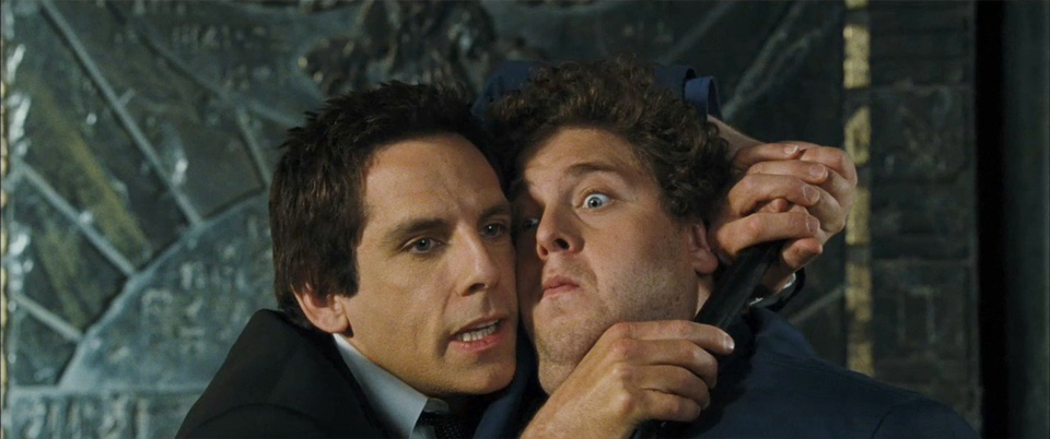 Ben Stiller e Jonah Hill in una scena del film