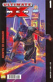 La copertina di Ultimate X-Men n. 1.