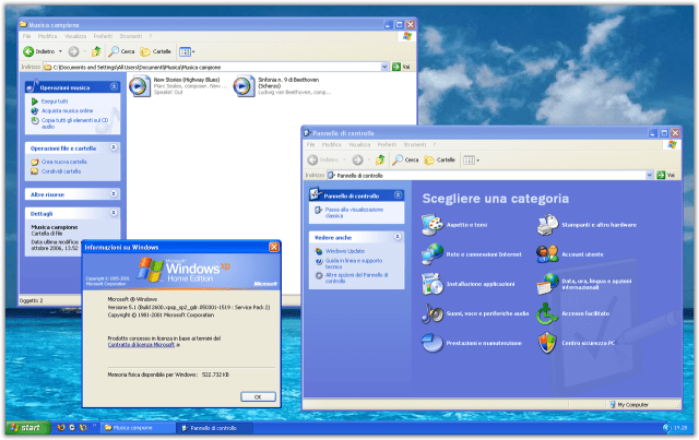 Windows XP - Screenshot