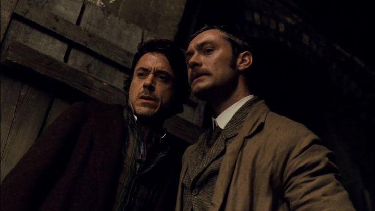 Sherlock Holmes - Robert Downey Jr. e Jude Law