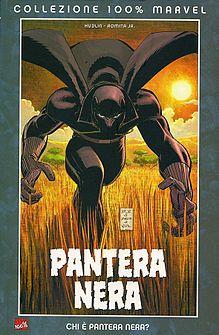 Pantera Nera disegnata da John Romita Jr.