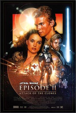 Poster do filme Star Wars: episódio II - ataque dos clones