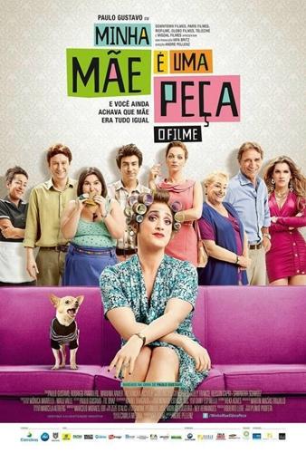 Poster do filme Minha Mãe é Uma Peça: O Filme