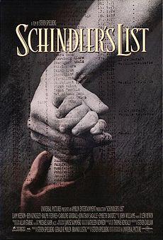 Poster do filme A Lista de Schindler