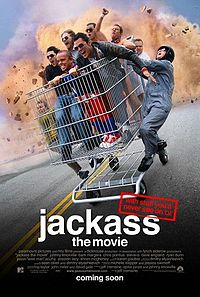 Poster do filme Jackass: Cara-de-Pau - O Filme