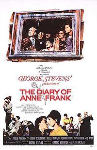 Poster do filme O Diário de Anne Frank