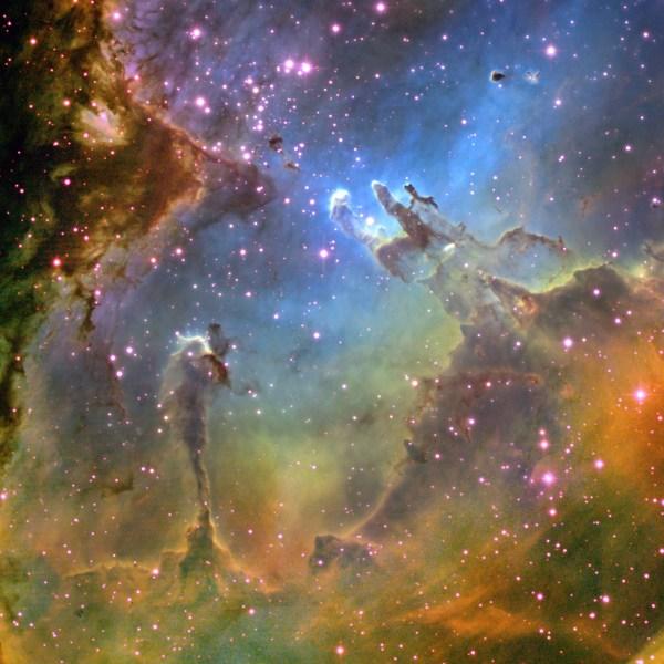 Файл:Туманность Орла и Столпы Творения.jpg — Википедия