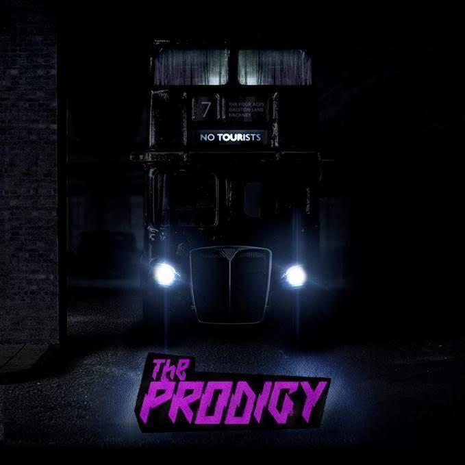 Обложка альбома The Prodigy «No Tourists» (2018)