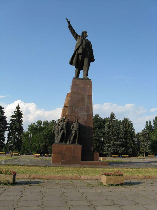 Памятник Ленину (Запорожье) — Википедия
