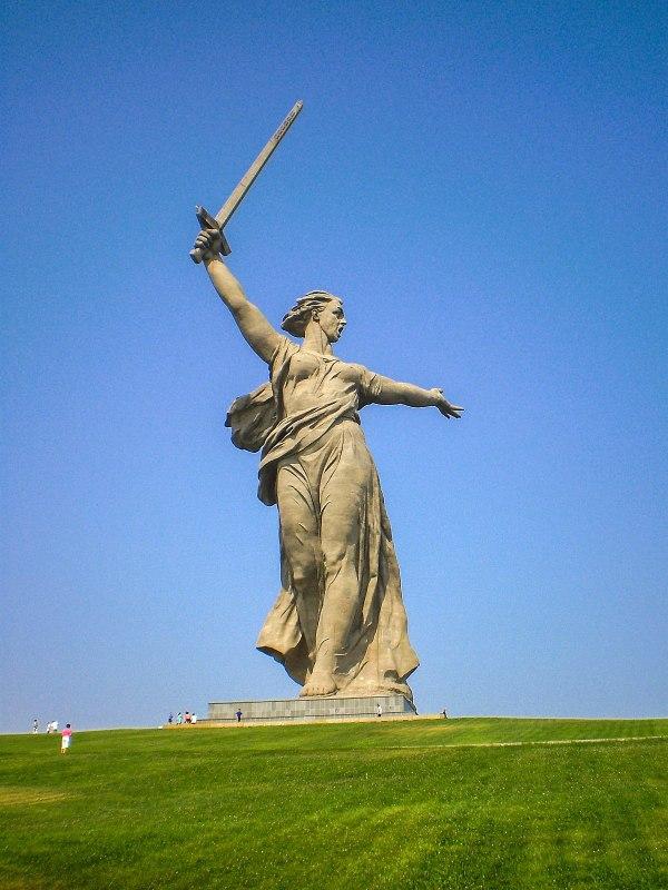 Родина-мать (Волгоград) — Википедия